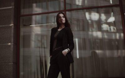 Sorte bukser til kvinder